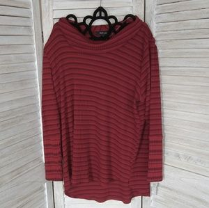 Style & Co Sweaters - NWT Style & Co. Lightweight sweater RED stripes